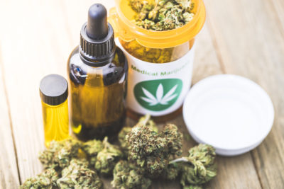 Medical Marijuana in different forms