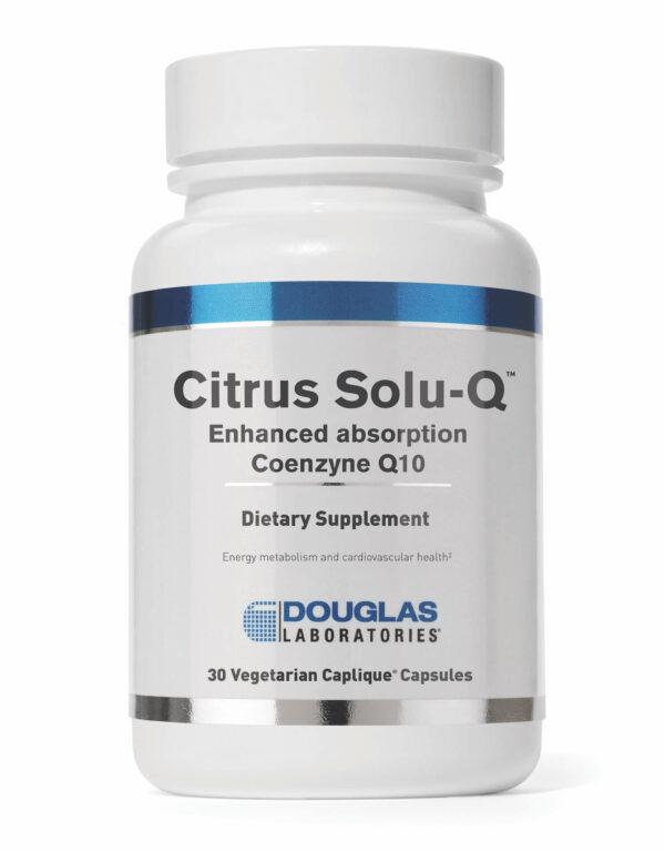 citrus solu-q enhanced absorption coenzyne